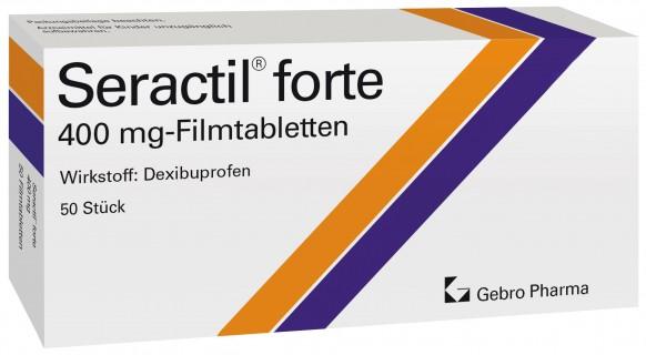 Seractil® forte 400 mg-Filmtabletten