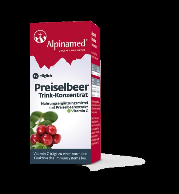 Alpinamed® Preiselbeer Trink-Konzentrat