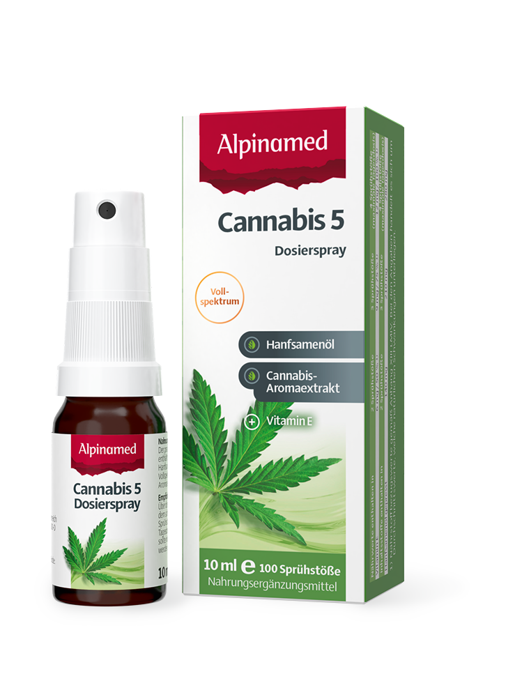 Alpinamed® Cannabis 5 Dosierspray