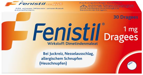 Fenistil 1mg-Dragees