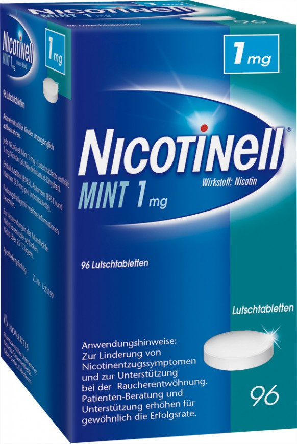 Nicotinell Mint 1mg-Lutschtabletten