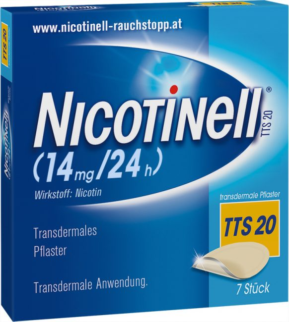 Nicotinell TTS 20 transdermale Pflaster