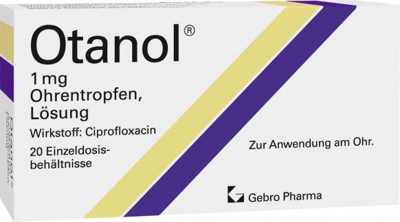 Otanol® 1 mg Ohrentropfen, Lösung