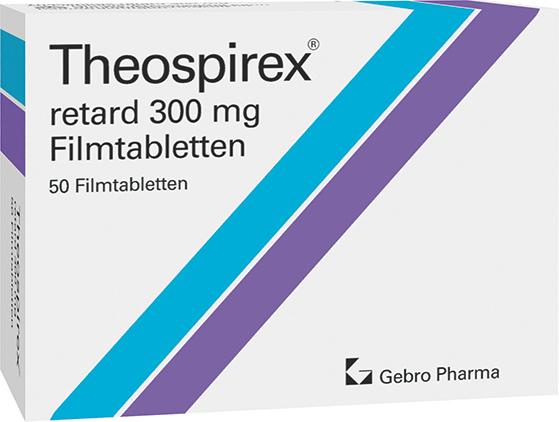 Theospirex® retard 300 mg-Filmtabletten