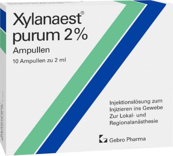 Xylanaest® purum 2%-Ampullen