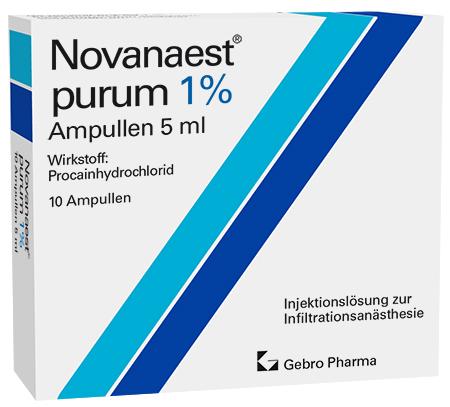 Novanaest® purum 1%-Ampullen