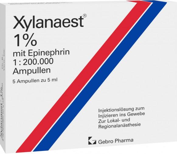 Xylanaest® 1% mit Epinephrin-Ampullen