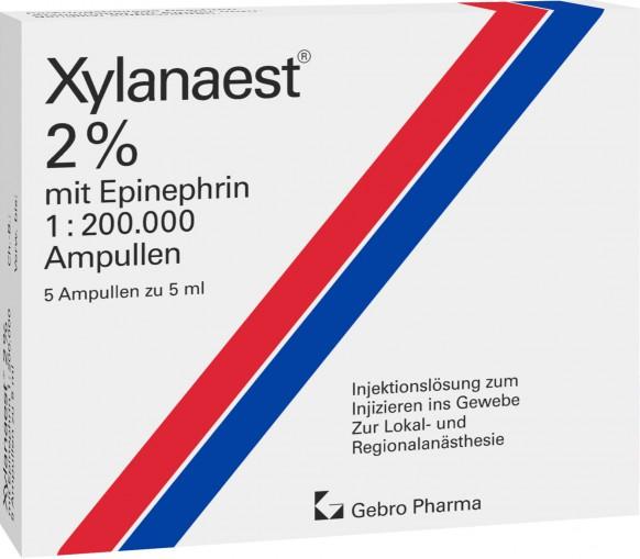 Xylanaest® 2% mit Epinephrin-Ampullen