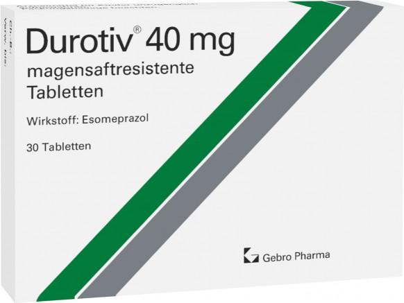Durotiv® 40 mg-magensaftresistente Tabletten