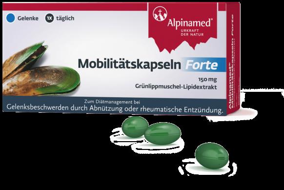 Alpinamed® Mobilitätskapseln Forte