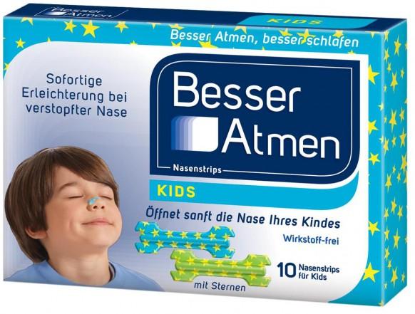 Besser Atmen Nasenstrips für Kinder