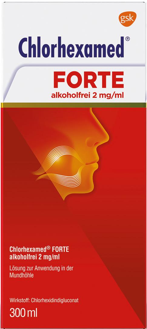 Chlorhexamed Forte alkoholfreie Lösung 2 mg/ml